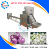 Stainless Steel Onion Peeler Peeling and Root Cutting Machine
