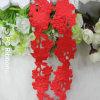 Good Quality Red Satin Leaf Ribbon Decoration