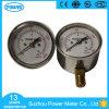 2.5 Inch 63mm Capsule Low Pressure Gauge Manometer 16 Kpa