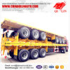 20FT 40FT Container/Utility/Cargo Flatbed/Platform Truck Semi Trailer