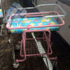 Ce Certification Hospital Movable Baby Carriage Stroller Baby Trolley Cot Hospital