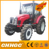 Agricultural Machinery 80HP 4WD Hydraulic Steering Diesel Farm Tractor
