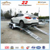 OEM Heavy Duty Galvanized Flat Floor Car Trailer