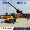 Hydraulic Pile Driver, Spiral Rotary Drilling Rig Dfr-10W, Building Construction Tools