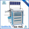 Cheaper ABS Hospital Anesthesia Medical Trolley