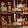 Classic Bedroom Furniture with Double Bed (W852)
