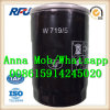 China High Performance Auto Oil Fiter W719/15 Mann
