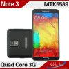 Mtk6589 1+8g, 8.0MP Camera, 3G Quad Core Note 3