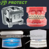 Dental Orthodontic Self Ligating Metal Brackets 345# /3# with Hooks
