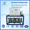 R22 Quick Freezing Spiral Freezer Compressor Rack