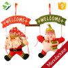 Xmas Door Hanging Decor Christmas Ornaments Santa Claus Snowman Reindeer