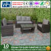 Rattan Garden Furniture Weave Wicker Sofa Set Conservatory Set Black Roma