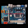 Factory Price Motherboard H61-1155 with 2X1.5V DDR3 DIMM, Maximum Capacity to 8g