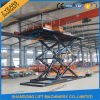3t 5m Hydraulic Scissor Car Lift Stacker Platform for Sale