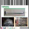 Single Line Galvanized Metal Display Hooks