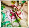 Printed Faux Silk Printed Satin Chiffon Fabric for Women Dress