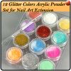 12PCS Mix Colors Nail Art Acrylic Powder