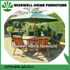Wood Type Folding Outdoor Furniture with Umbrella