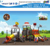 Children Outdoor Playground with Three Slide Playsets HD-Tsj002
