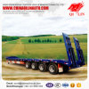 4 Axles 80 Tons Low Bed Semi Trailer