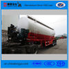 Bulk Cement Tank Semi Trailer with Diesel Engine and Air Compressor