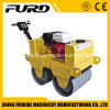 Honda Gasoline Tandem Drum Mini Road Roller Compactor with Factory Price (FYL-S600)