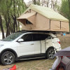Fast Open 4WD Cotton Canvas Fabric Folding Car Roof Top Tent