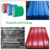 Prepainted Galvanized Steel Colored Zinc Corrugated Steel Roofing Sheet PPGI