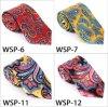 Stylish Silk/Polyester Printed Paisley Necktie-01