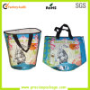 New Design Round Shape PP Woven Laminated Shopping Bag