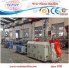 PP PE PVC Plastic Single Wall Corrugated Pipe Machine