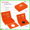 Luxury Custom Red Leather Necklace Box (5530R2)
