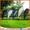 100% Polyester Promotional Printing Adversting Banner Beach Flag
