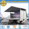 Dongfeng 4X2 Outdoor Stage Promotion Truck with LED Performance Screen