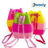Charm-Hottest Silicone Bucket Backpack with Bracelet with Free Macaroon