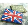 Customised PVC Rubber Patches Union Jack