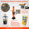 Automatic Powder Coating Spray Gun (robot move machine)