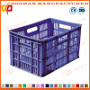 Foldable Mesh Plastic Storage Crate Fruit Transport Turnover Basket (Zhtb17)