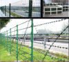 Highway Barrier Fence Galvanized PVC Coated