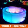 LED Glowing Mini Hotel Reception Counter Design