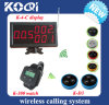 CE Approved 433.92MHz Service Bell System for Restaurant
