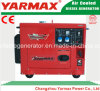 Portable Diesel Silent Generator 5.5kVA Advanced Alternator Winding
