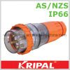 IP66 4 Pin 32A Waterproof Plug