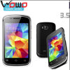 Low Cost R2 3.5'' Qvga Low End TV PDA Mobile Phone