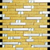 Golden Glass Art Mosaic for Building Material (VMW3908)