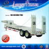 2/3 Axles Lowboy Trailer for Heavy Machine Transportation