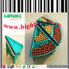 Acrylic Triangle End Cap Supermarket Vegetable and Fruit display Rack
