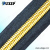 3 Inch Classic Nylon Coil Zippers with Gold Teeth