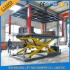 Double Layers Used Home Garage Hydraulic Car Lift for Basement