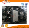 Flexographic Printing Machine 4 Color HDPE Plastic Print